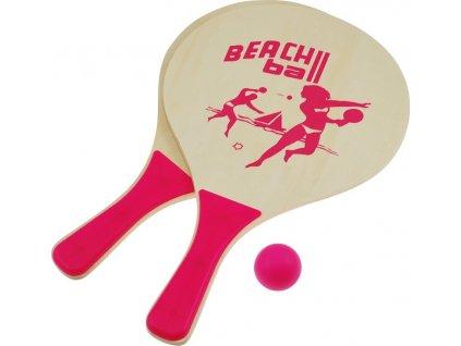Plážový tenis set, růžový
