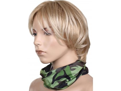 Camouflage multifunkční šátek