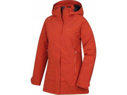 Dámský hardshell plněný kabátek   Nigalo L tl. korálová