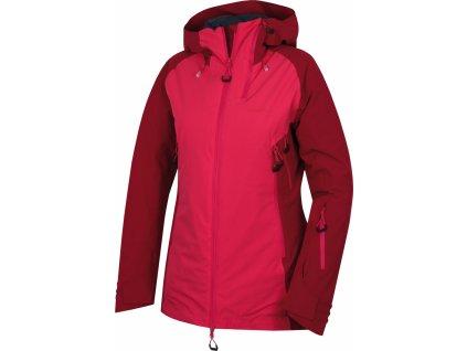 Dámská hardshell plněná bunda   Gambola L purpurová / růžová