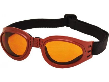 Skládací brýle TT BLADE FOLD, metalická červená