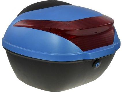 Zadní kufr k elektroskútru RACCEWAY E-BABETA, modrý
