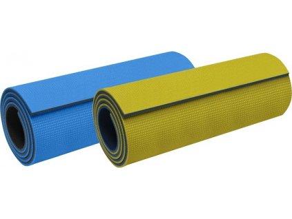 Karimatka 180x50x1,0 cm - dvouvrstvá PE, mix barev