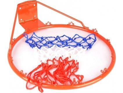 Koš na basket + síťka 1107 SPARTAN červený průměr koše 45 cm červená 3014SP