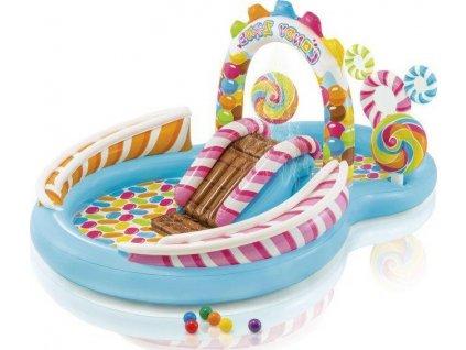 Hrací centrum Candy Zone Intex 57149 295x191x130 cm  57149