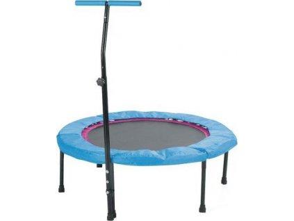 Trampolína SEDCO fitness s madlem kruhová 110 cm Růžová 5262