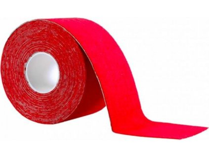 Kinesiology Pure2Improve Tape - Tejpovací páska 500x5 cm - Sada 2ks Červená 250030