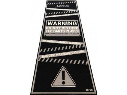 Podložka/koberec na šipky XQ MAX DARTMAT Warning  100110
