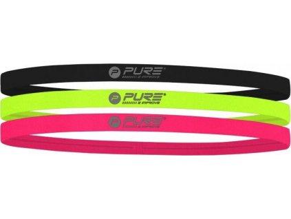 Sada elastických čelenek Pure2Improve - 3ks  320000