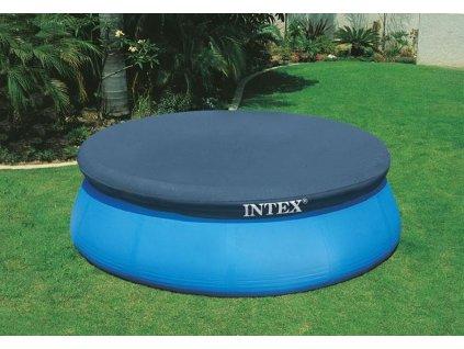Bazénová plachta EASY Intex 28023 černá 457 cm  28023