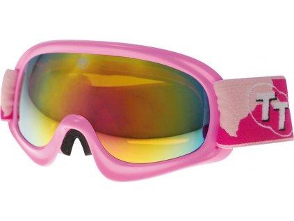 Brýle sjezdové dětské TT-BLADE JUNIOR-8, růžové