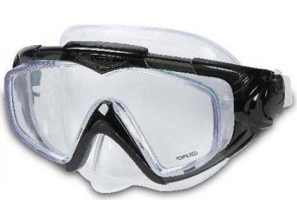 Potápěčská maska Intex 55981 AQUA PRO SILICON černá černá 55981CR