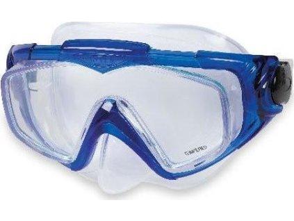 Potápěčská maska Intex 55981 AQUA PRO SILICON modrá modrá
