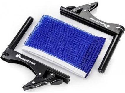 Clip síťka s držákem na stolní tenis modrá