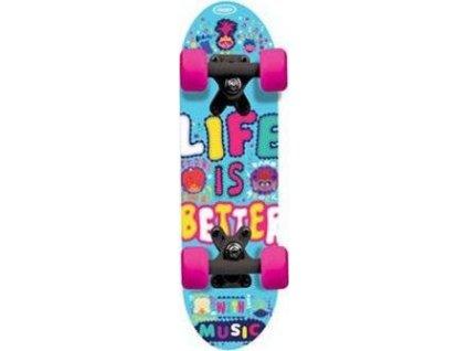 Dětský Skateboard - Mini board Trolls 17 palců Trollové 28701