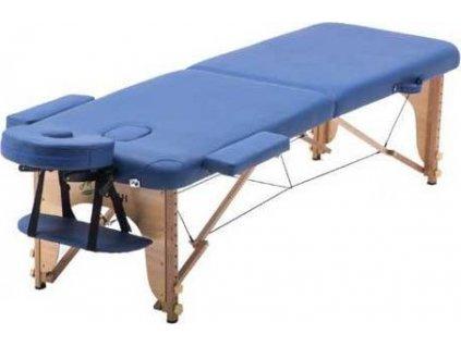 Masážní lůžko/lehátko SPARTAN skládací - dřevěné 186 x 70 cm  04501