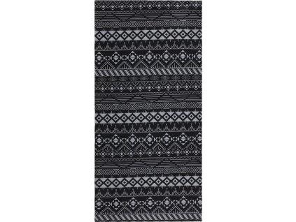 multifunkční šátek   Printemp grey triangle stripes
