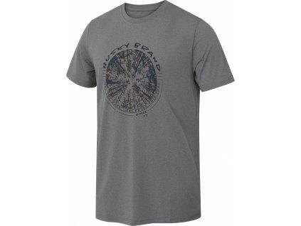 Pánské triko   Tash M šedá
