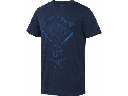 Pánské triko   Tingl M tm. modrá