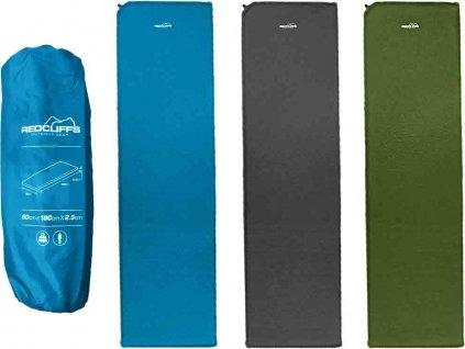 Samonafukovací karimatka Redcliffs 180x50x2,5 cm Zelená DT000090ZE
