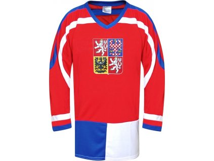 Hokejový dres ČR 1, červený