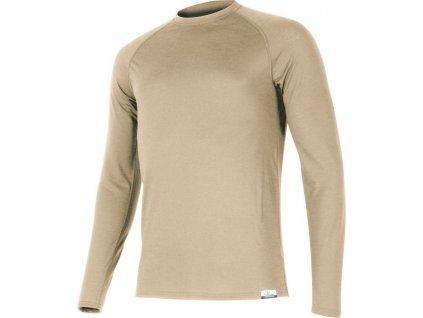 Lasting pánské merino triko ATAR béžové