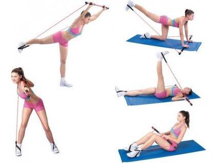 Aerobic tyč Sedco Body Shaper Stick 130 cm  2457C