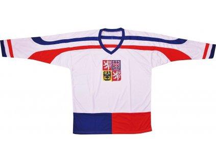 Hokejový dres ČR 2, bílý