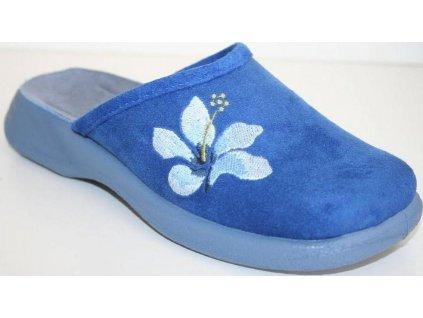 019D076 36 - OLIVIE ZŠ - modrý květ