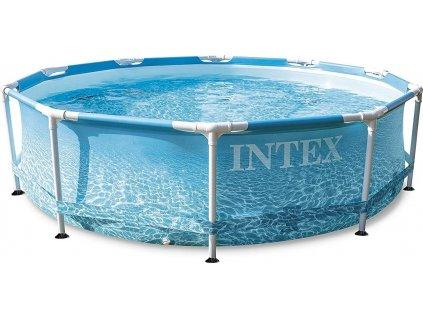 Bazén Intex 28206 BEACHSIDE METAL FRAME POOL 305x76 cm  28206