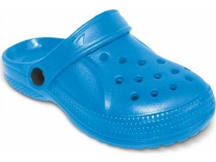 159Y008 30 - dětské pantofle EVA befado stř. modrá