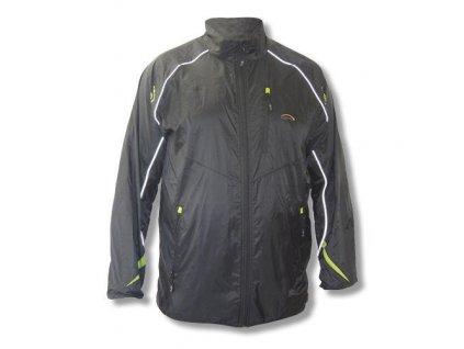 Mercox Leon black bunda běžecká