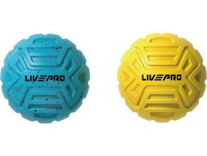 Masážní míč LivePro na nohy - SET 2 ks  8507