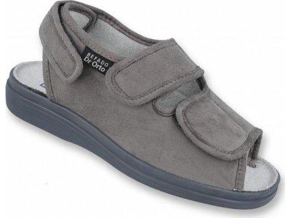 733M006 42 - Dr. ORTO - pánský sandál šedý
