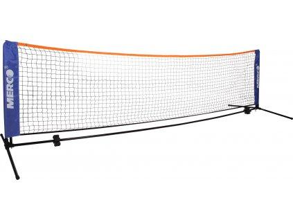 Badminton/tenis set 6,1m stojany na kurt vč. sítě