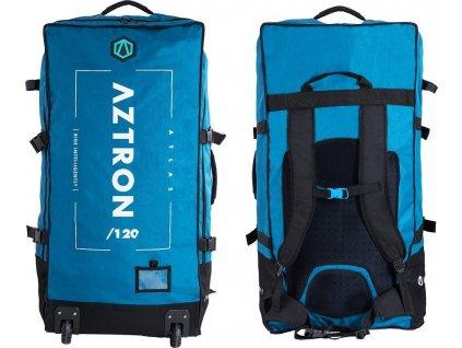 Batoh s kolečky AZTRON NA PADDLE BOARDY 120 l Modrá AC-B105