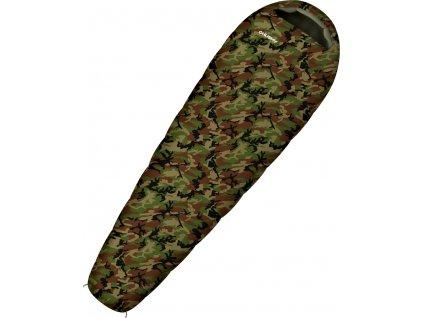 Spacák Outdoor  Junior Army -10°C khaki