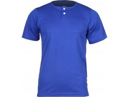 YBJ baseballový dres dětský bílá velikost oblečení S