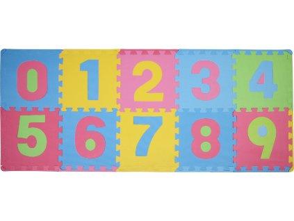 Čísla 3 pěnové puzzle