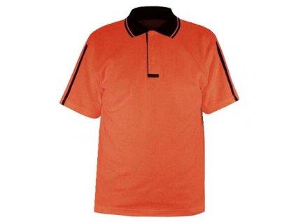 PO-11 pánské triko oranžová velikost oblečení XS