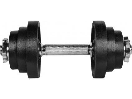 Činka nakládací LIFEFIT jednoruční 12 kg, 30mm tyč/6x kotouč