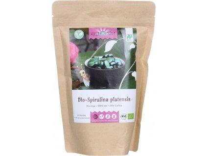 Spirulina 500 g, 2000 tablet bio produkt z Německa