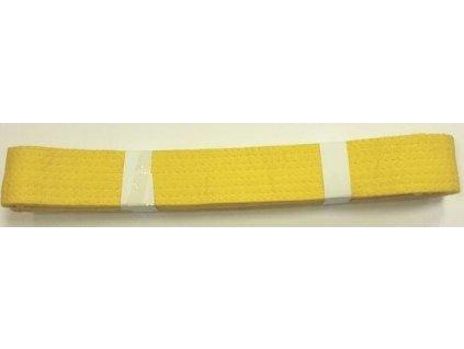 Pásek ke kimonu JUDO EFFEA žlutý vel. 4  80254ZL