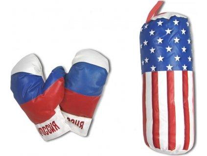 Boxing SET SEDCO dětský - mini Motiv: RussiaMotiv: BoomMotiv: USA