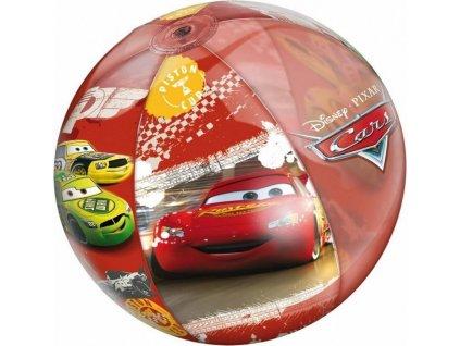 Nafukovací plážový míč MONDO CARS 50cm auta 16361