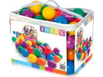 Míčky hrací 8cm 100ks Intex 49600 mix barev  49600