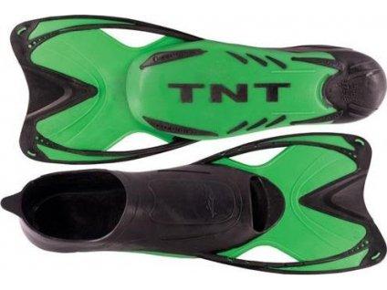 Ploutve plavecké TNT SHORT 45-46 Velikost 45/46 - Zelené