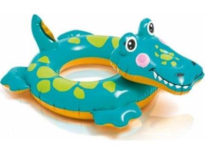 Kruh plavací INTEX ZVÍŘATA Lev krokodýl 58221KROK