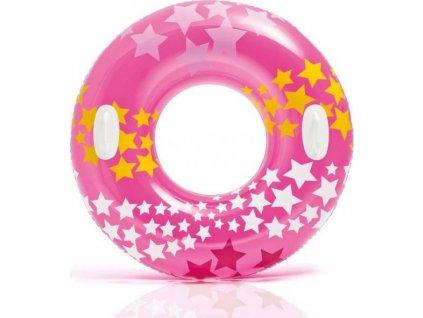 Kruh plavecký Intex 59256 nafukovací 91 cm Růžová 59256RU