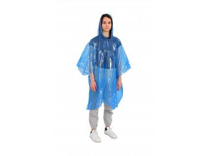 Mercox poncho pláštěnka PE blue univerzální velikost